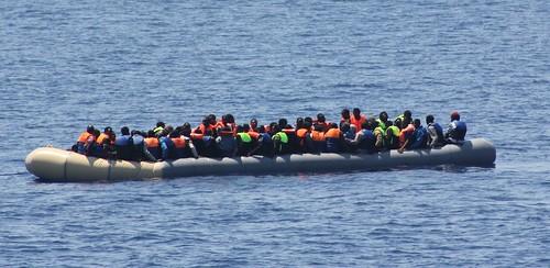 P52 Migrants 19 July 2015 03   by Óglaigh na hÉireann