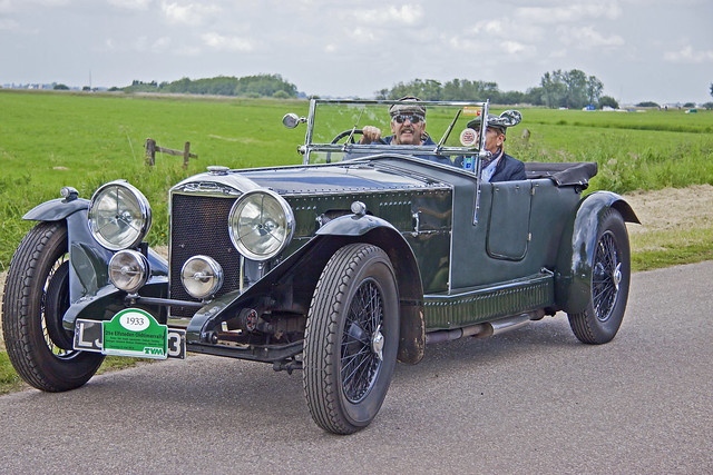 Invicta Type S 4.5 Low Chassis Convertible 1933 (8178)