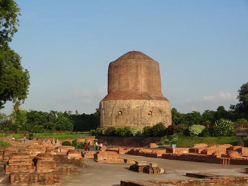 Dhamek Stupa(sarnath) 13 km away from Varanasi  in the state of Uttar Pradesh, India | by ~live curious.....!