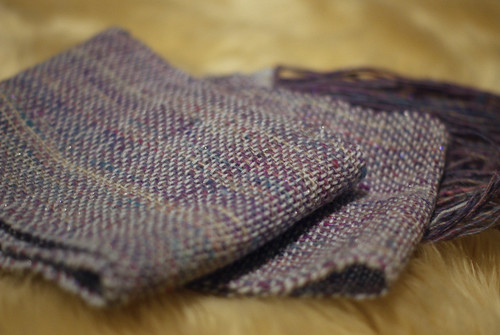 Another scarf, not yet washed | by thriftyknitter