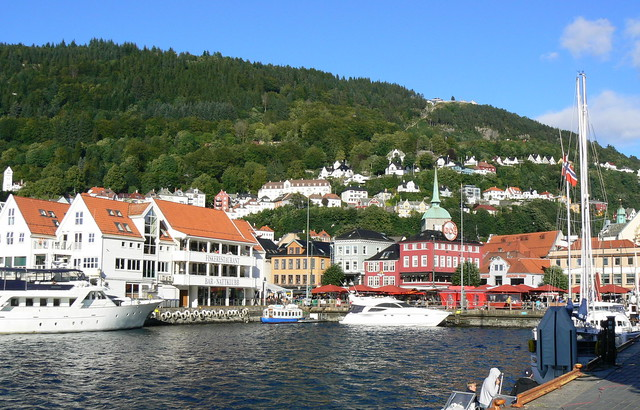 in Gedanken in Bergen a