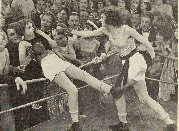 1920's women boxing from film Manslaughter  | The film is by… | Flickr