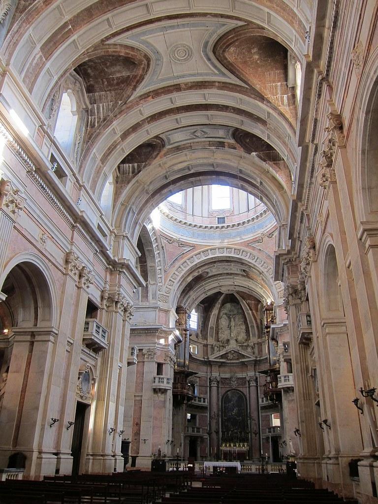 Mafra 02 | The basilica of the Mafra National Palace ...