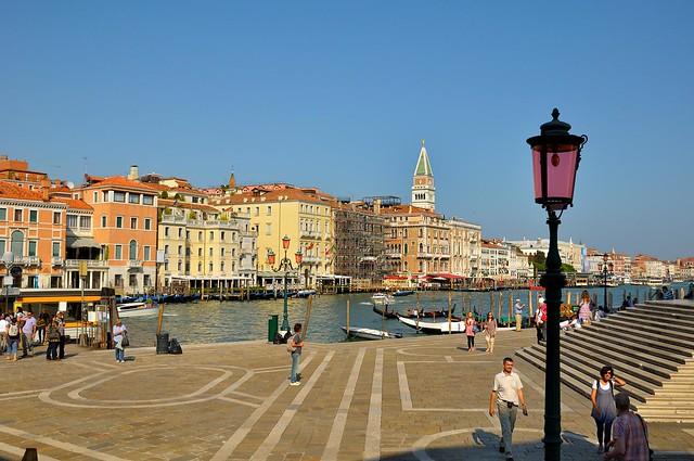 Venice : Esplanade of the Santa Maria della Salute