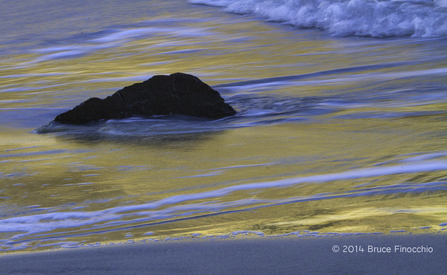 Ethereal Light and Flowing Water