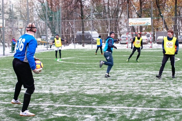 Russia-2016-11-05-'Play Football for Peace' Held in Moscow