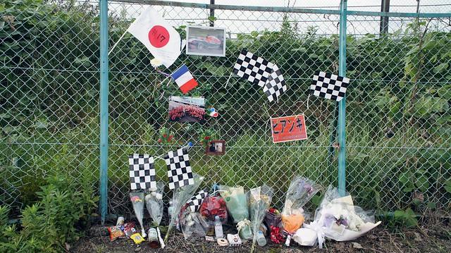 Jules Bianchi crash site