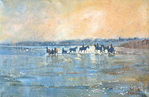 Trouville | by Paintings by Paula Nightingale