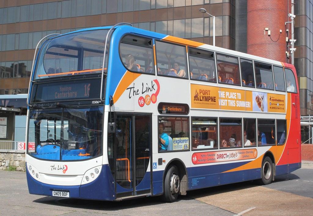 Stagecoach East Kent 15506 Gn09bdf Bus Station Folke