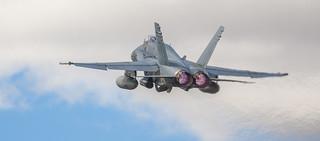 Spanish Hornet full afterburner!!!   by FlickrdeChato
