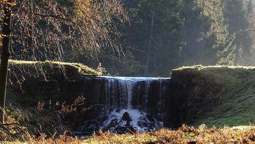 waterfall leeds harewood