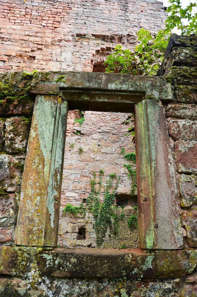 Window at Burg nanstein
