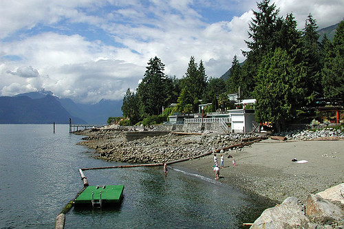 Lions Bay, Howe Sound, Sea to Sky Highway 99, British Columbia, Canada