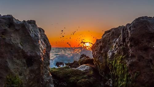 sun gulfofmexico nature water landscape spring rocks waves seascapes sunsets beaches gf1 beachphotography myflorida sunsetmadness sunsetsniper caspersensbeach