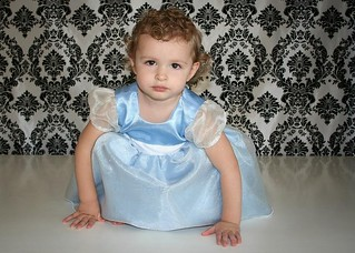 Cinderella's First Party Dress