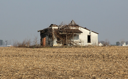 county roof ohio chimney house brick overgrown field farmhouse pen altered john log corn exterior farm historic steeple madison single porch vacant pike siding exposed burnham township rosedale collapsed asbestos tenant hewn notching hewed