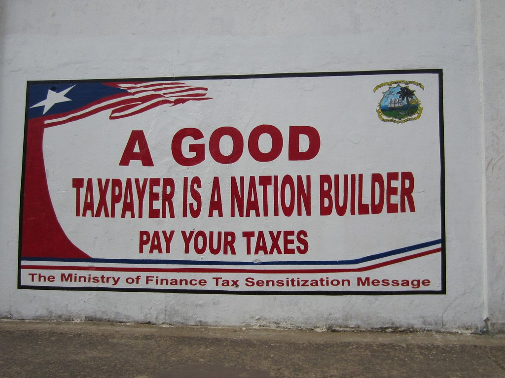 This one's for you, taxref! | Tax sensitization message from… | Flickr