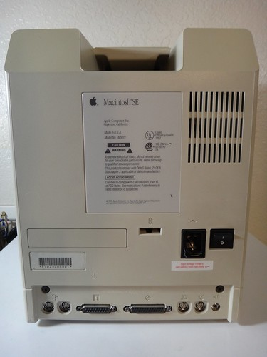 Macintosh SE SD Back | by iThinkClassic