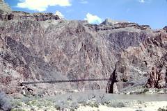 Xv2 & Xg2 Vishnu Schist with Zoroaster dikes at South Kaibab bridge 001
