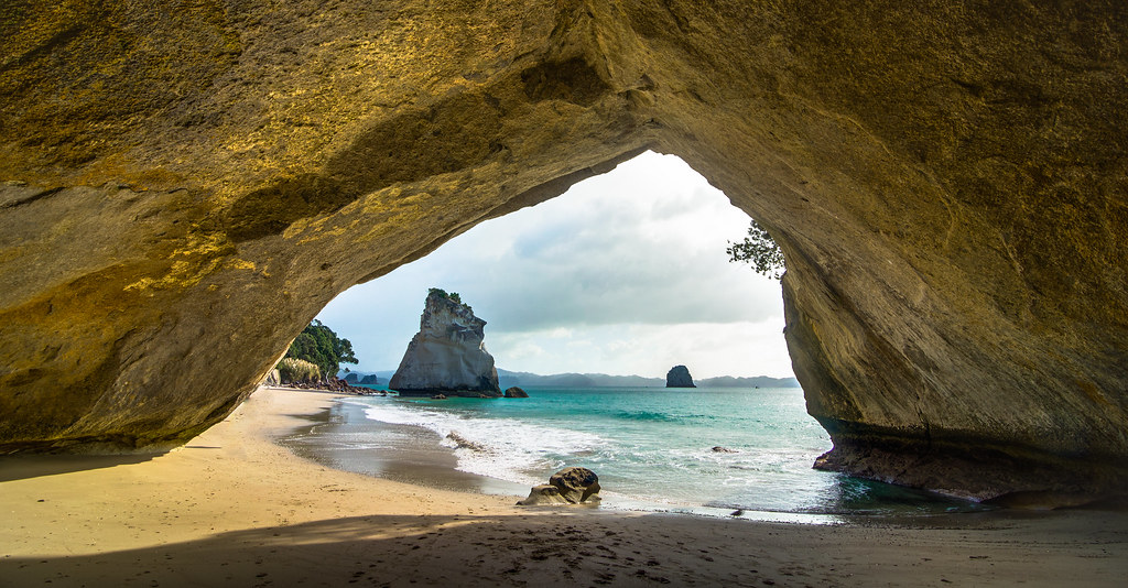 Cathedral Cove A Trip To The Coromandel Peninsula And Cath Flickr
