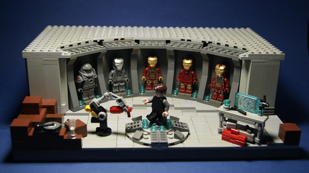 Lego Iron Man 3 - Hall of Armor | Took me a about a week to