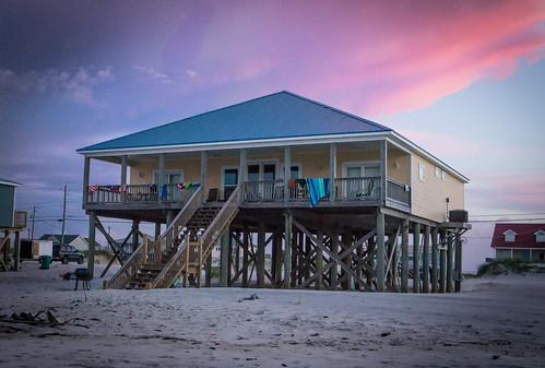 house beach sunrise island alabama dauphin beachhouse dauphinisland