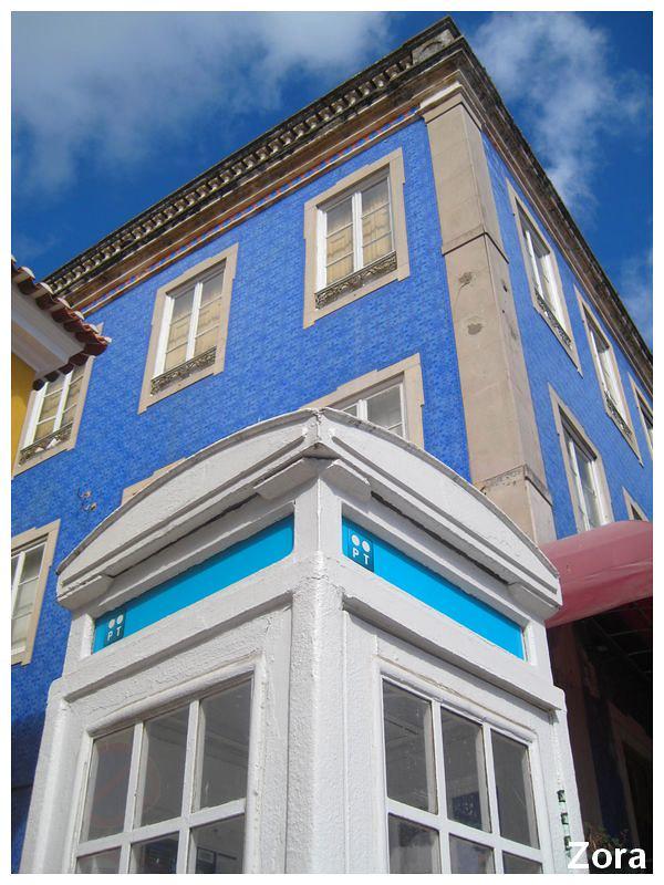 Maison aussi bleu que le ciel de Sintra