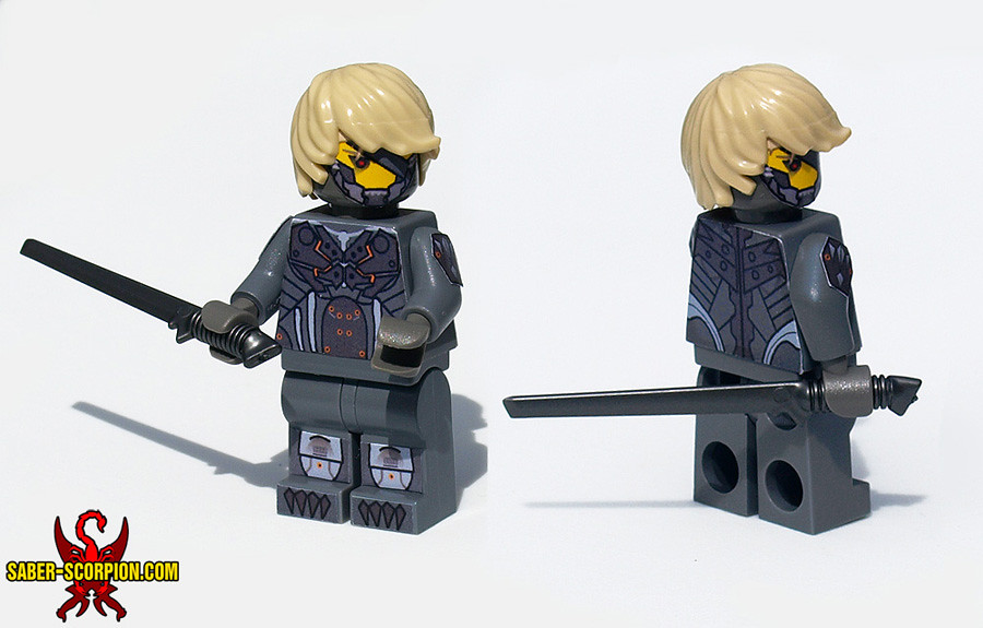 Lego Minifig Camera : Raiden lego minifig metal gear rising: revengeance flickr