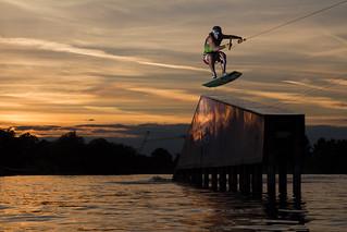 Matt Crowhurst Wakeskating Rooftop Shovit | RWND