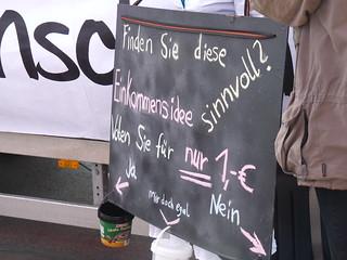 Basic Income Demonstration in Berlin | by stanjourdan