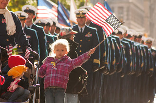 US Coast Guard families and service members march in New York City's Veterans Day Parade [Image 4 of 7] | by DVIDSHUB