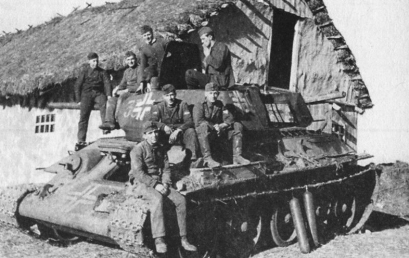 Soviet Technics in German Units (6)