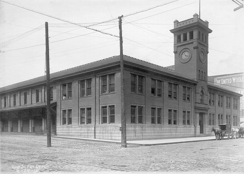 Queen And Crescent Freight Depot - Cincinnati, OH   by Particularly Everything