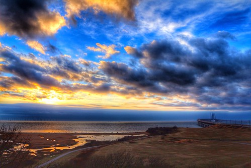 sunset sea sky fav20 fav30 malmö öresund öresundsbron fav10 fav40 uploaded:by=flickrmobile flickriosapp:filter=nofilter