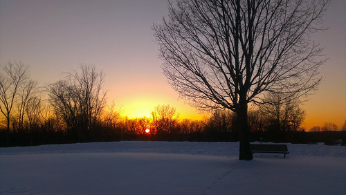 winter sunset red sky orange sun snow glow michigan february winterwonderland shelbytownship