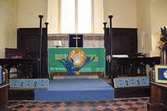 altar frontal by Isabel Clover, 2000