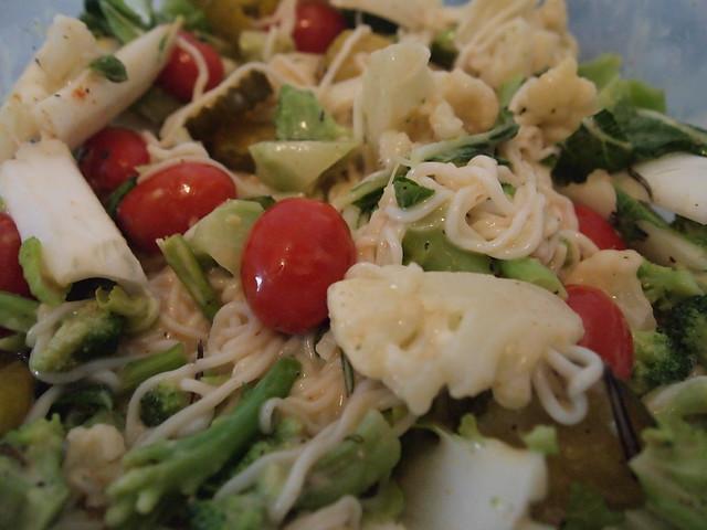 Vegan Pasta Salad w/ Tofu Shirataki Noodles