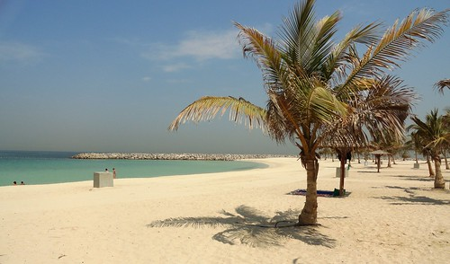 Al Mamzar Beach Park, Dubai | by travelourplanet.com