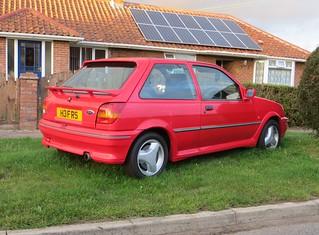 1990 Ford Fiesta RS Turbo   by Spottedlaurel