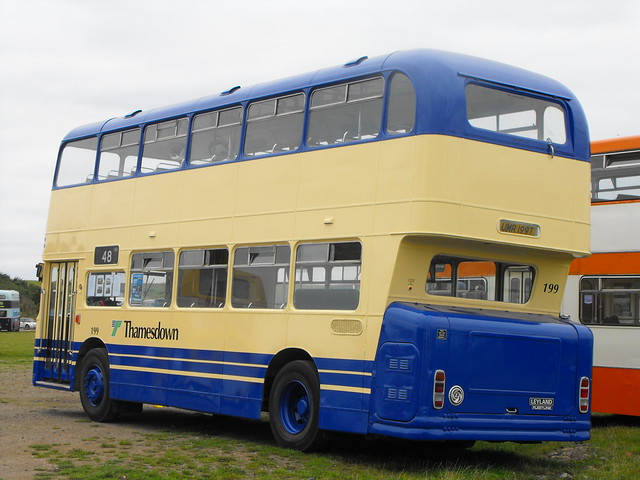 199, UMR 199T, Leyland Fleetline, ECW Body, 1978 (t.2013) (2)