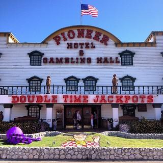 Pioneer Hotel & Gambling Hall   by Nevada Magazine