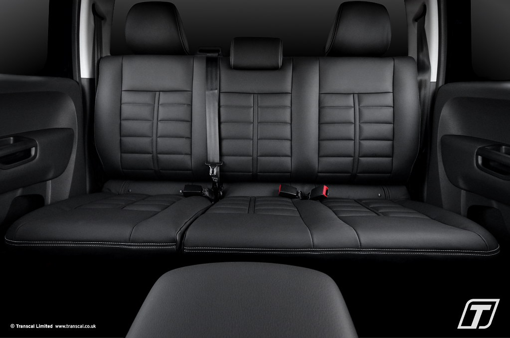 VW Amarok leather interior - Transcal UK | VW Amarok leather