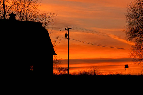 trees sunset basketball barn hoop virginia photo colorful telephone pole decor winston