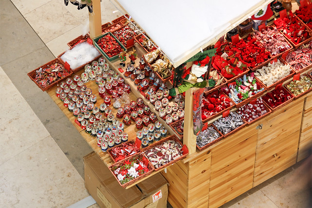 Christmas stand overview
