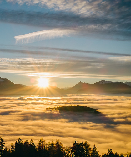sunset sky mountains alps clouds colorphotography selfie telfs vsco