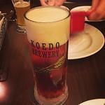 COEDO 紅赤。さつまいものビールがやっぱり好き。