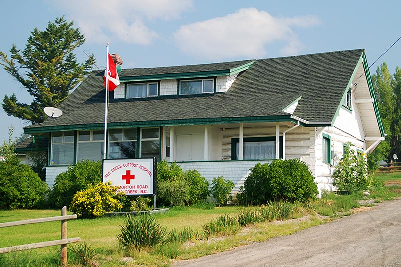 Red Cross Outpost Hospital, Alexis Creek, Chilcotin, BC