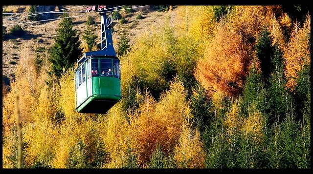 Autumn in Bucegi mountains