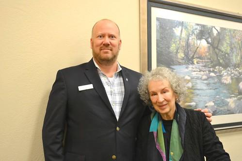 Margaret Atwood visits Omaha