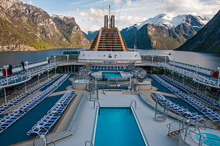 Onboard the Oceana in the Fjord somewhere near Flam - Norway | by bvi4092